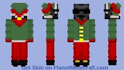 Whiter Skeleton Elf Minecraft Skin