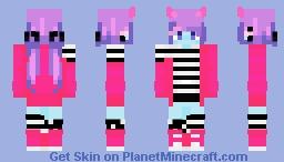 blue demon thing Minecraft Skin