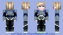 [Kari] Avengers: Quicksilver || Prize for Naimarra Minecraft Skin