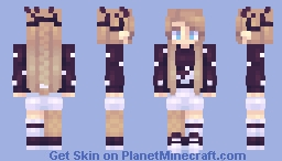 """🃏𝒞𝒽𝒶𝒷𝒾𝓁𝓊𝓁𝓊🃏 """"Alyss and the abyss"""" [GIFT N°3] Minecraft Skin"""
