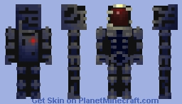 The Mars expedition starts now! Minecraft Skin