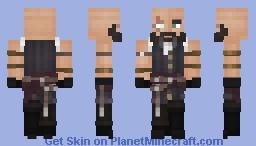 Scarred Pirate Minecraft Skin