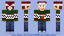 X-mas Triple Zee Minecraft Skin