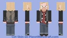 Dwight || The Walking Dead || The First Day of the Rest of Your Life Minecraft Skin