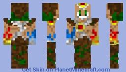 Elemental Warden Minecraft Skin