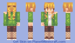 I'm not good at Christmas skins. Minecraft Skin