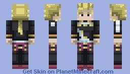 Keicho Nijimura | Diamond is Unbreakable Minecraft Skin