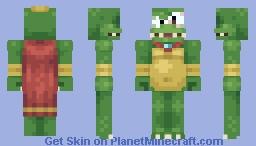 King K. Rool Minecraft Skin
