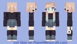 Baby Blue Minecraft Skin
