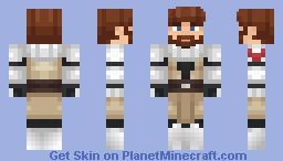 Obi-Wan Kenobi - Star Wars: The Clone Wars Minecraft Skin
