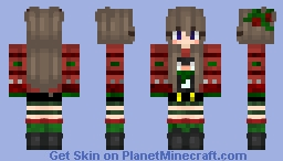 The Christmas Girl- Contest Special Minecraft Skin