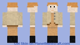 Hungarian technician (WW2) Minecraft Skin