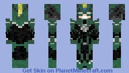 Captain Marvel Minecraft Skin