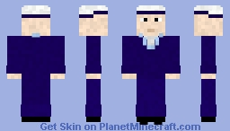 British sailor (WW2) Minecraft Skin