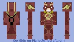The Flash (Injustice 2) Minecraft Skin