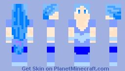 Water Element Girl (Five Element Contest) Minecraft Skin