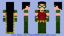 Tim Drake Robin Minecraft Skin