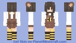 honey Minecraft Skin