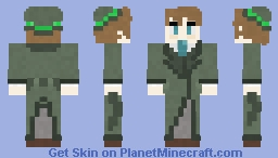 Pickle Inspector - Problem Sleuth [MSPA] Minecraft Skin