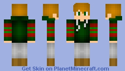 a christmas skin Minecraft Skin
