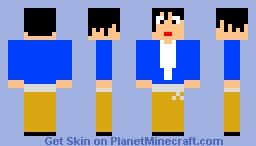 Michael Jackson The way u make me feel Minecraft Skin