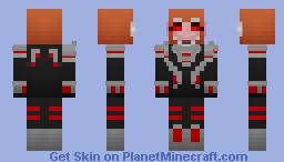 Silver Widow Minecraft Skin