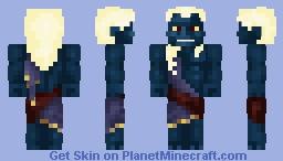 Oni/Street fighter IV  (request) Minecraft Skin