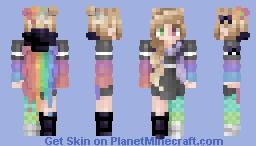 Skachuaine reshade contest Minecraft Skin