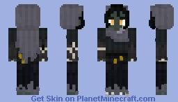 Nott the Brave - Critical Role Minecraft Skin