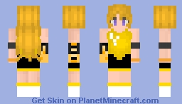 {RWBY} Yang Workout Outfit (Variation) Minecraft Skin