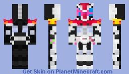 Kamen Rider Zi-O Kabuto Armor Minecraft Skin