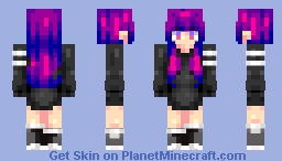 ~| Violet and blues |~ Minecraft Skin