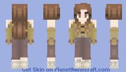 Silent Scream//2nd Persona//Oc Minecraft Skin