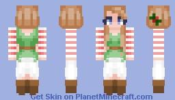 It's the Holiday Season Minecraft Skin