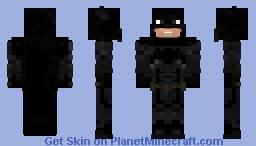 Justice League Batsuit Minecraft Skin