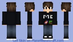 Minecraft sweatshirt v2 Minecraft Skin