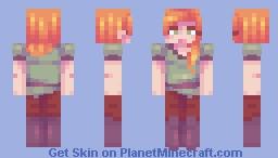 female alex from target ? | alex remake Minecraft Skin