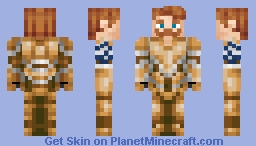Sin of Pride, Escanor [Seven Deadly Sins] BETTER IN 3D Minecraft Skin