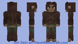 [LotC] Wildling Woman Minecraft Skin