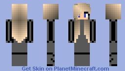 Mission girl Minecraft Skin