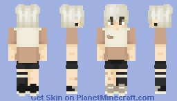 Bottle Blonde Minecraft Skin