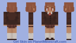 Private School Girl Minecraft Skin