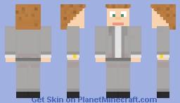 grey suit Minecraft Skin