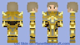 High Exarch Turalyon - World of Warcraft - By Wolf40013 Minecraft Skin