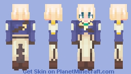 Auto Memories Doll Violet Evergarden (december 12th) Minecraft Skin