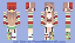 present 13 Minecraft Skin