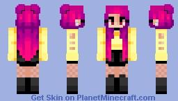 i dont wanna be loved Minecraft Skin
