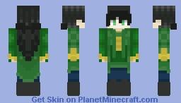 Loki/Loki girl Minecraft Skin