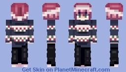 Merry X-mas Minecraft Skin