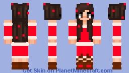 Play With Kath's Christmas Dress Minecraft Skin
